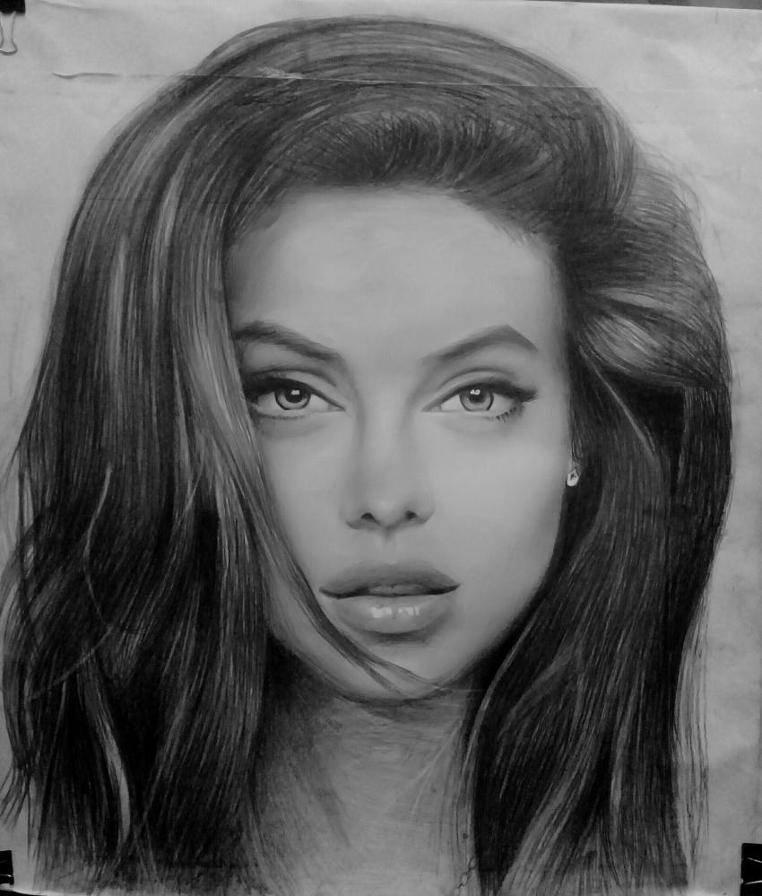 Angelina Jolie par jeshua7
